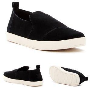 🎧 Tom's Toms ✦ Cameron Suede Sneaker ✦ Black ✦